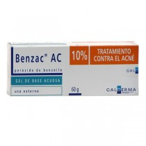 BENZAC AC 10% 60 GR (PAE)...