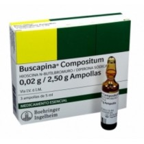 BUSCAPINA COMPOSITUM 5 ML 3...