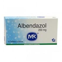 ALBENDAZOL 200 MG 2 TAB MK...