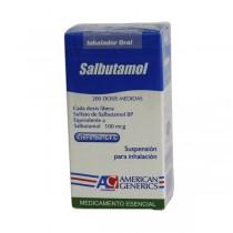 SALBUTAMOL INHALADOR 200...