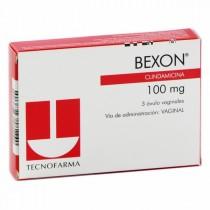 BEXON 100 MG 3 OVULOS (M)...