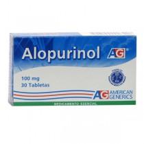 ALOPURINOL 100 MG 30...