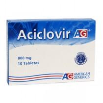ACICLOVIR 800 MG 10...