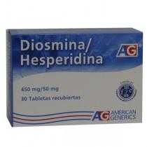 DIOSMINA/HESPERIDINA 450/50...