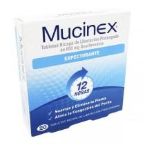 MUCINEX 600 MG 20 TBS...