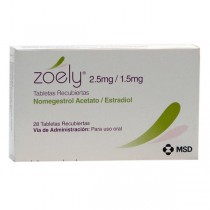 ZOELY 2.5 MG/1.5 MG 28...