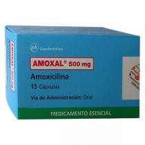 AMOXAL 500 MG 15 CAPSULAS...