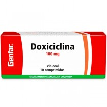 DOXICICLINA 100 MG 10...