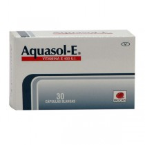 AQUASOL E 400 MG 30 PERLAS...