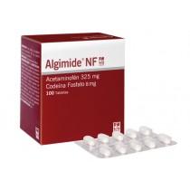 ALGIMIDE NF 325/8 MG 100...